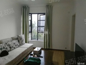 新上装修套二客厅带阳台不临街朝西南看房方便