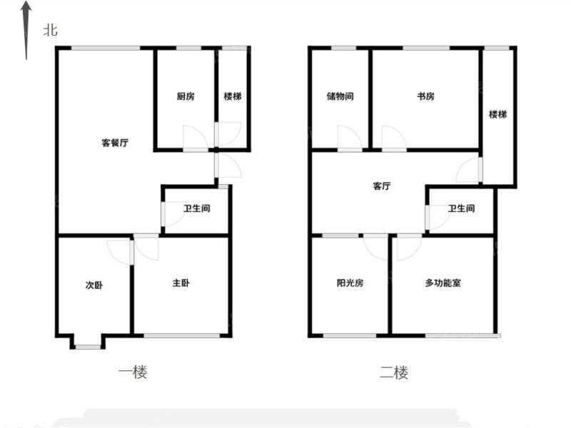 常州我爱我家新上金禧园复式两层,实用空间大,随时看房,价格实惠!!第17张图