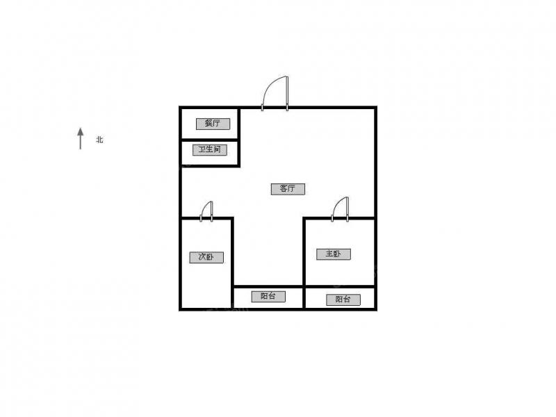 青岛我爱我家中南世纪城一期 户型方正 送全套家具家电第9张图