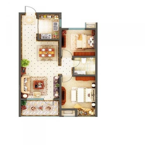 青岛我爱我家房东诚心首次出租好房,拎包入住,随时看房!!第6张图