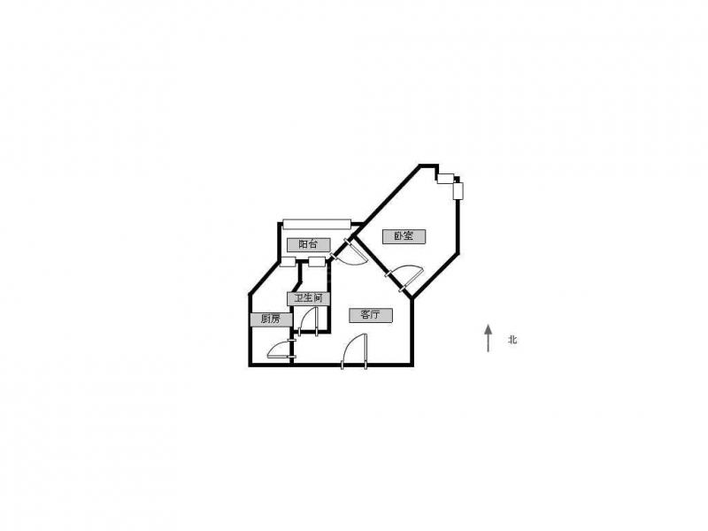 常州我爱我家高成天鹅湖单身公寓 全新精装 拎包入住第5张图