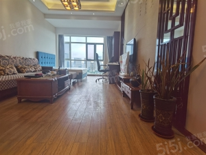 青岛我爱我家千禧龙花园 中式精装大套一 高层海景 配套齐全 随时看房