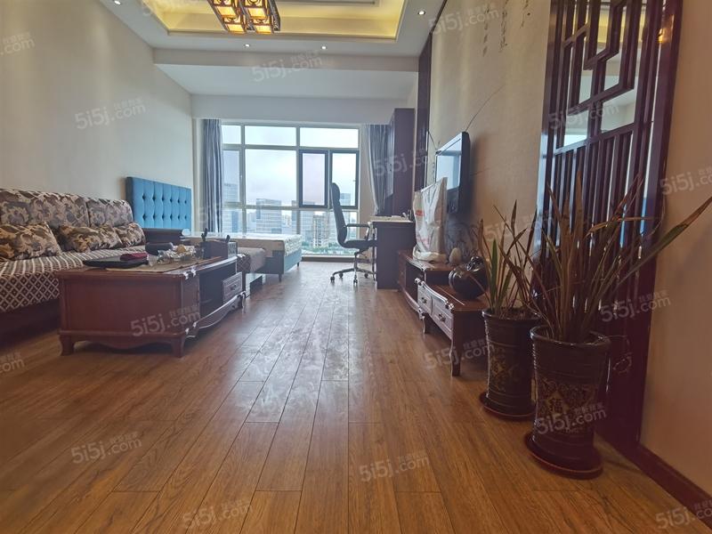 青岛我爱我家千禧龙花园 中式精装大套一 高层海景 配套齐全 随时看房第1张图